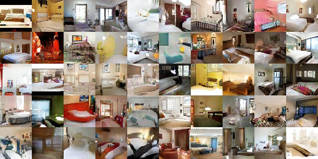 lsun_bedrooms_five_epoch_samples