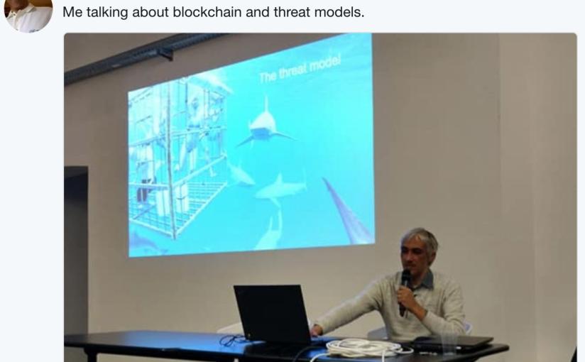 Seminario su blockchain eICO