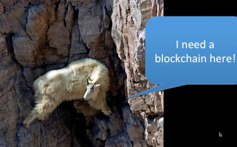 Quando serve veramente unablockchain?